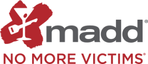 Logo for Mothers Against Drunk Driving (MADD)