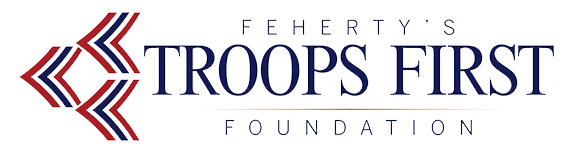 Logo for Troops First Foundation