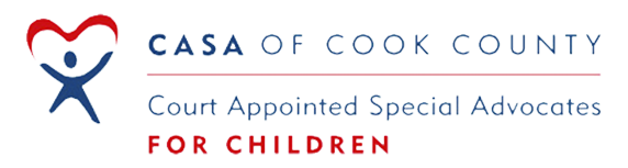 Logo for Court Appointed Special Advocates (CASA) of Cook County