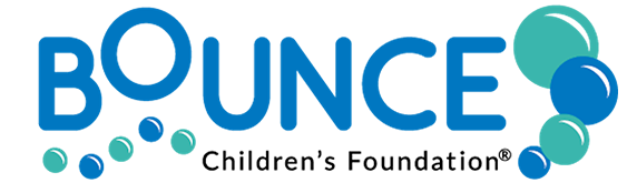 Logo for Bounce Children's Foundation
