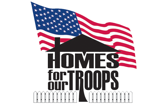 Logo for Homes For Our Troops